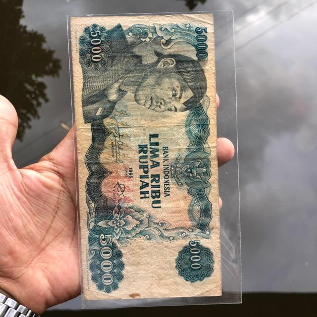 Uang Kuno 5000 Sudirman VF 02