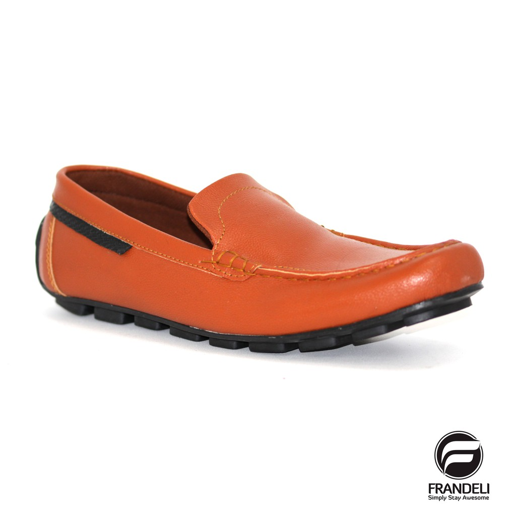 Frandeli - Kanze Original Slop Sepatu Pria Slip On Loafers Casual Santai    Formal  387eeb2ab5