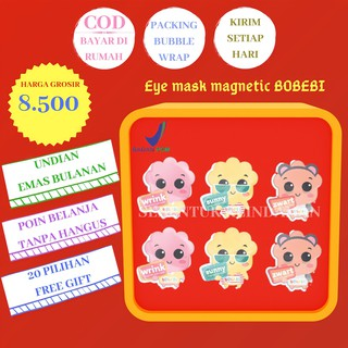 Bobebi eye mask magnetic masker mata BPOM thumbnail