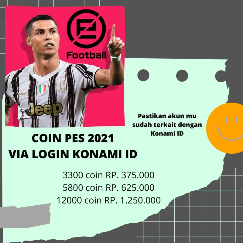Coin efootball pes 2021 mobile login