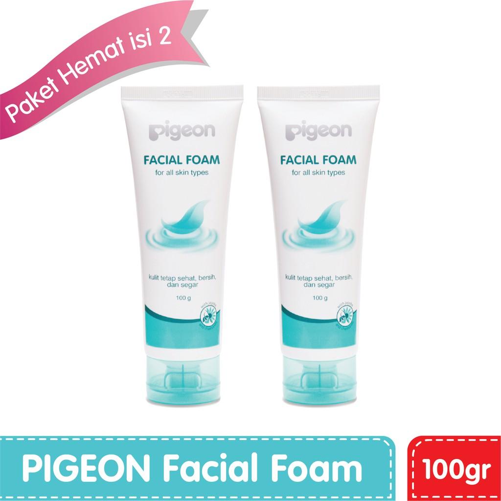 Pigeon Facial Foam 40 Gr Dan 100gr Shopee Indonesia Surewhite Papaya Bpom 100ml