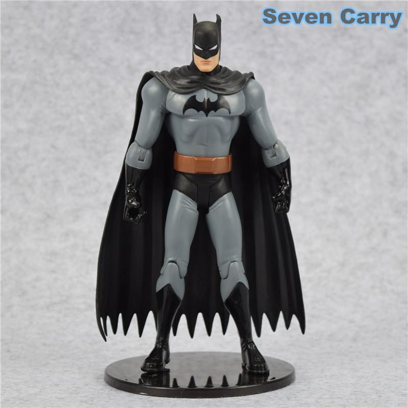 7 Pcs//lot Justice League Superman Batman Flash Aquaman DC Universe Action Figure