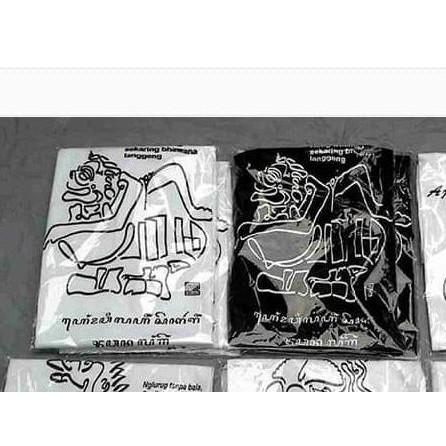 Terlaris Kaos Kaligrafi Aksara Jawa Bentuk Wayang Semar