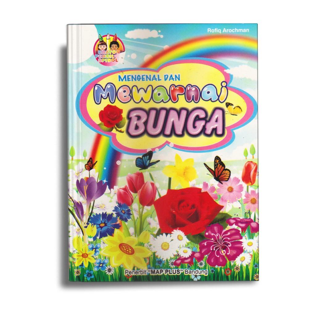 Buku Anak Tk Paud Belajar Mewarnai Anak Mengenal Mewarnai Bunga Shopee Indonesia