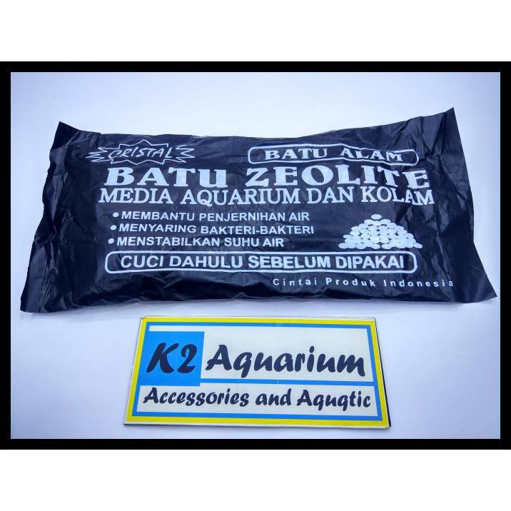 Batu Zeolite Zeolit Media Filter Aquarium Aquascape Penjernih Air Kolam Ikan Koi | Shopee Indonesia