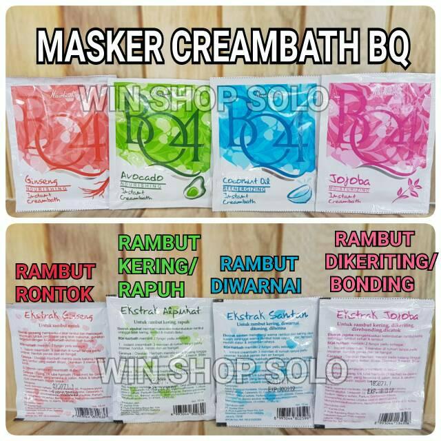 CREAMBATH HAIR MASK BQ4 MASKER RAMBUT BQ