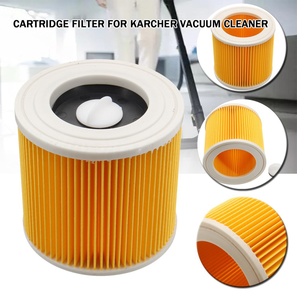 Premium Quality Cartridge Filter For Karcher Wet /& Dry Hoover Vacuum Cleaners 2