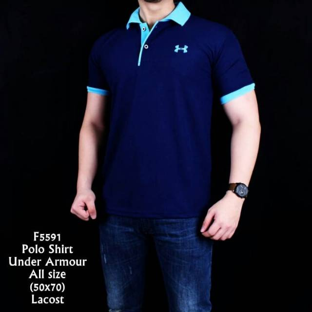 Harga Promo Kaos Golf Fila Polo Shirt Original Bukan Under Armour   Nike  Termurah  6d015b434d