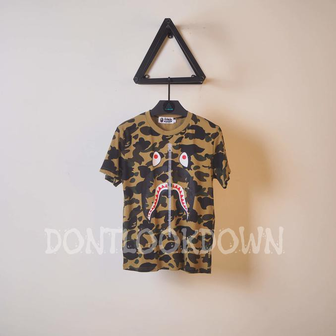 cfda8660 JUAL KAOS PRIA BAPE COLOR CAMO SHARK TSHIRT MIRROR QUALITY 1:1 ORIGINL |  Shopee Indonesia