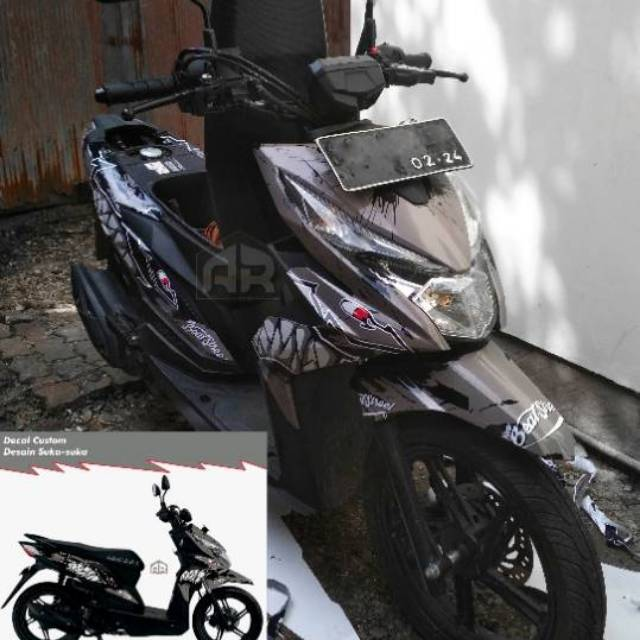 Decal Beat Street Shopee Indonesia