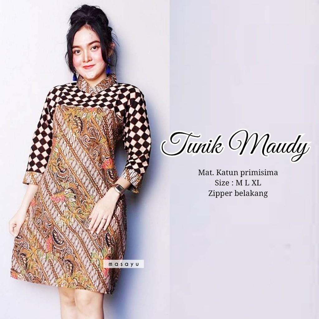 Tunik Batik Wanita Model Terbarubatik Tunik Modernbusana Wanita Kekinian