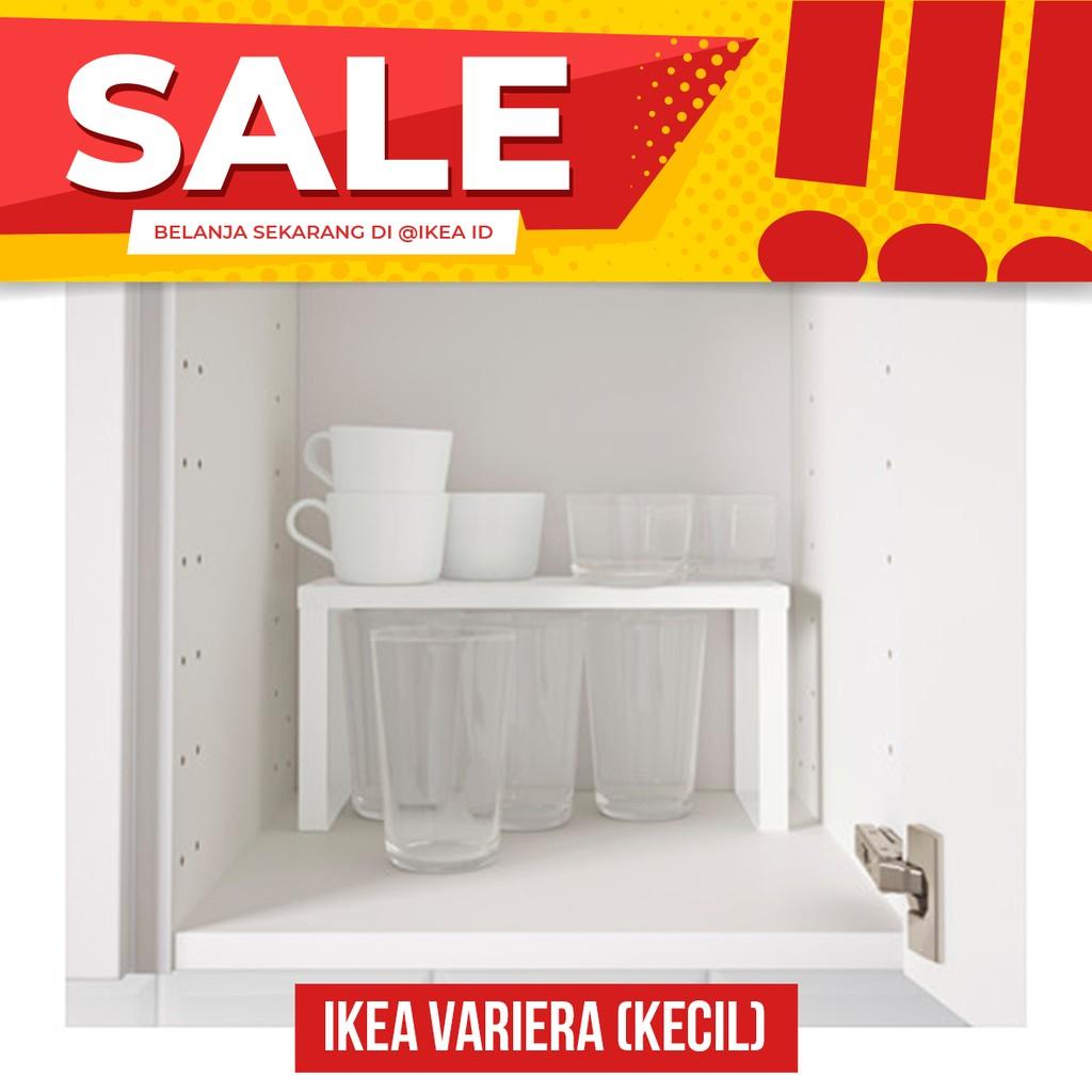 Ikea Lerberg Unit Rak 60x35x148 Cm Shopee Indonesia Abu Tua