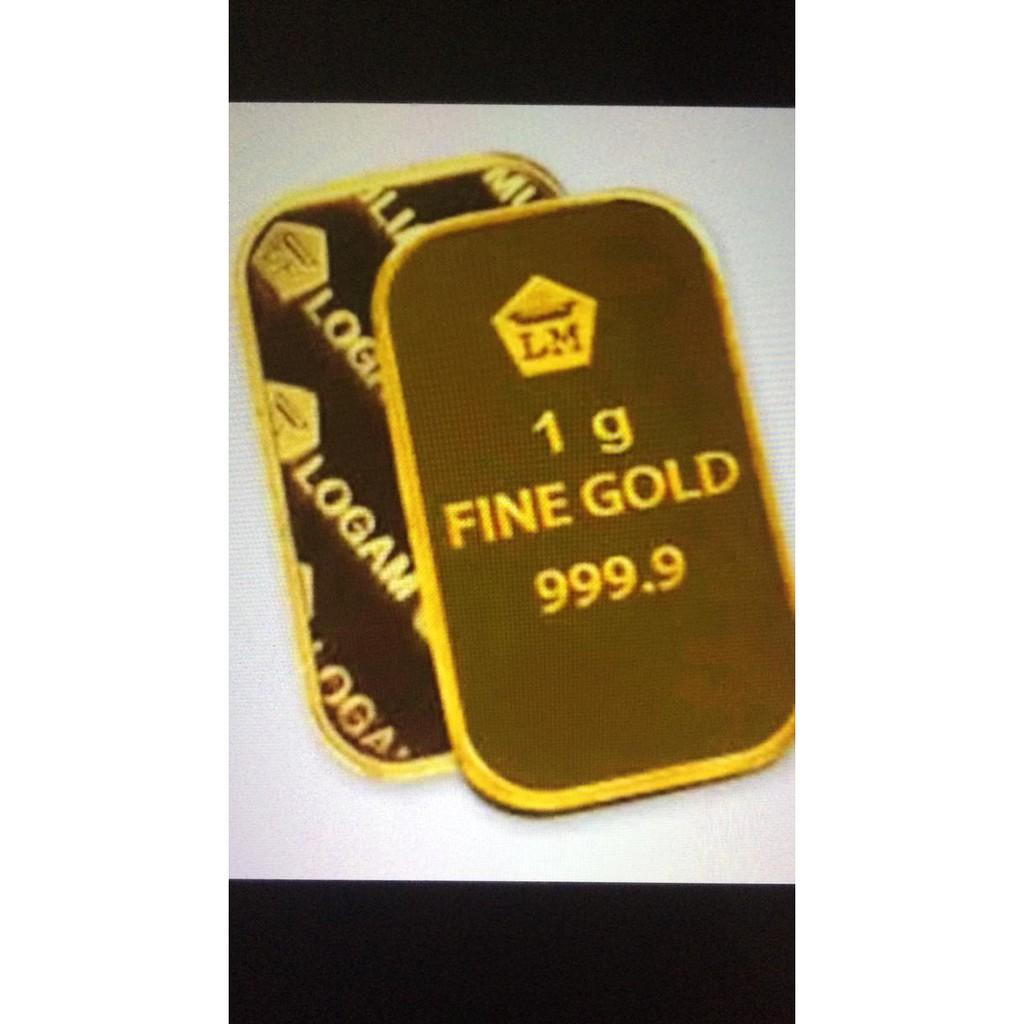 Emas Antam 24 Karat Gold 9999 Emas 24 Karat Berat 1 Gram Free