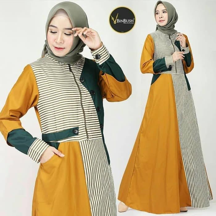Model Baju Gamis Terbaru 2020 - 2021 | Baju Model Dress ...