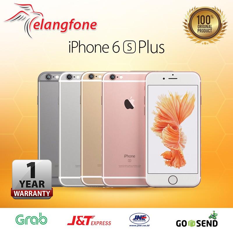 IPHONE 6S PLUS 64GB GRAY / GOLD / ROSEGOLD / SILVER GARANSI 1 TAHUN