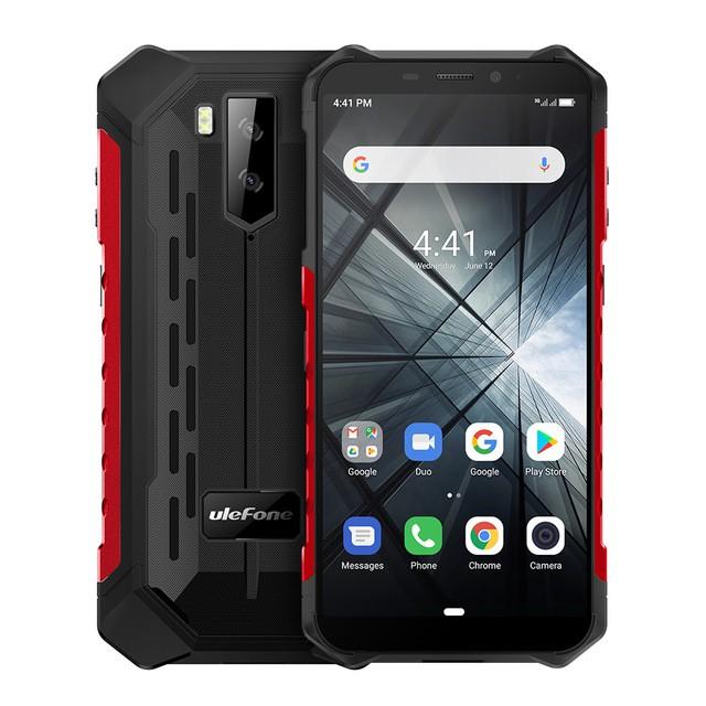 Ulefone Armor X5 Smartphone Android 9 0 Ram 3gb Rom 32gb Anti Air Ip68 Ram 3gb Rom 32gb Shopee Indonesia