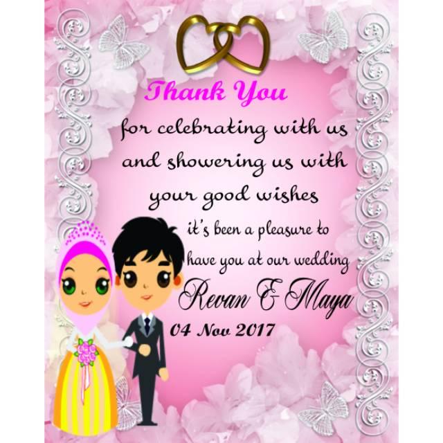 Souvenir Kartu Ucapan Pernikahan | Shopee Indonesia