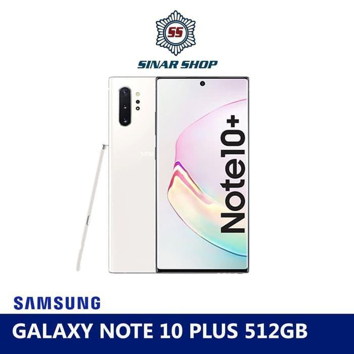 [Tablet] SAMSUNG GALAXY NOTE 10 PLUS RAM 12 GB ROM 512 GB (12/512) - RESMI - glow