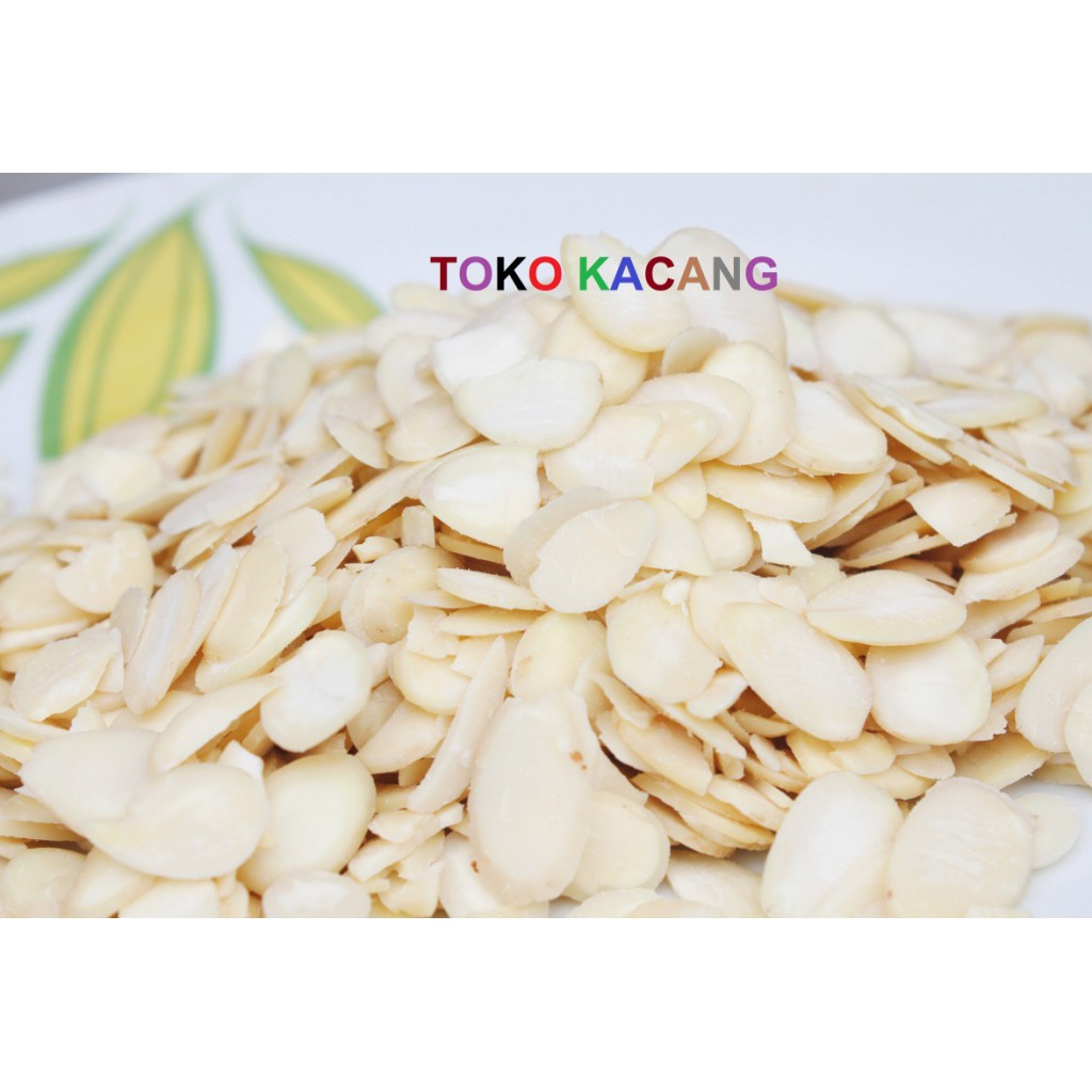 Beli Roasted Almond Sliced 1kg Irisan Kacang Panggang Harga Slice 250gr Mentah Lebih Murah Bersama Teman Shopee Indonesia