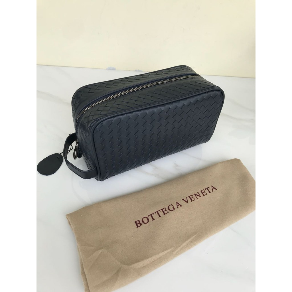 Clutch Tumi Alpha Organizer Travel Leather Hitam So92104dh Shopee In Black Premium Quality Indonesia