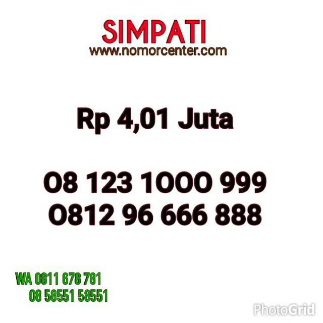 Home Telkomsel Simpati Nomor Cantik 0822 1000 4422 Simpati Nomor Cantik 0813 8888 6826. Source