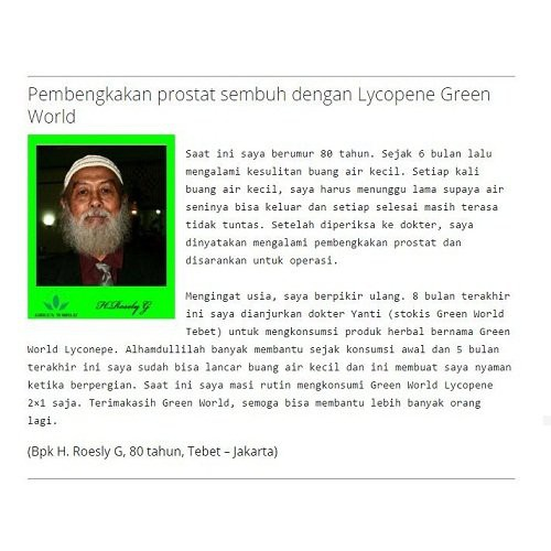 LYCOPENE SOFTGEL GREEN WORLD ORIGINAL 100% KEMASAN BARU Ampuh | Shopee Indonesia