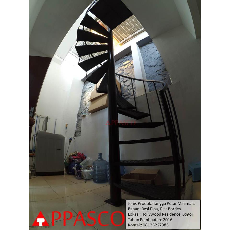 Tangga Putar Minimalis Di Hollywood Residence Bogor Shopee Indonesia