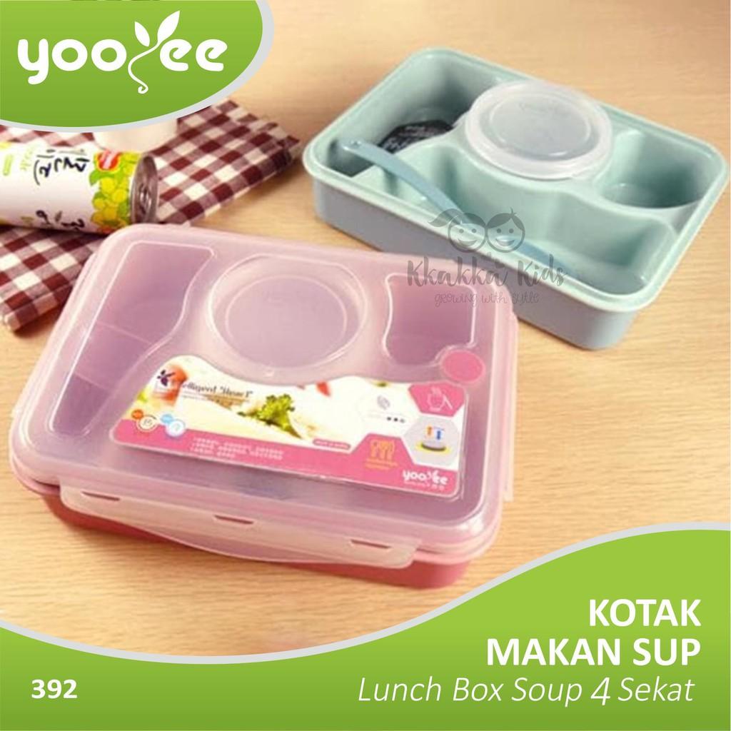 Kotak Makan Lunch Box Yooyee 577 Shopee Indonesia Leakproof 578 Anti Bocor Tosca