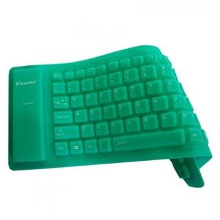 Keyboard USB Flexible Waterproff Mini Hitam Diskon