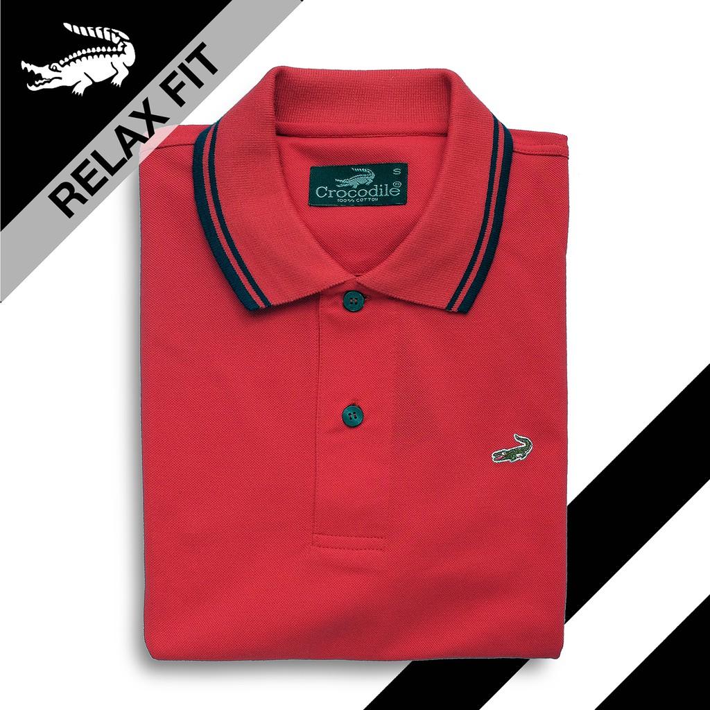 Clas Dark Navy Baju Pria Crocodile Men Polo Shirt Slim Fit Ori Katun M Bahan Shopee Indonesia