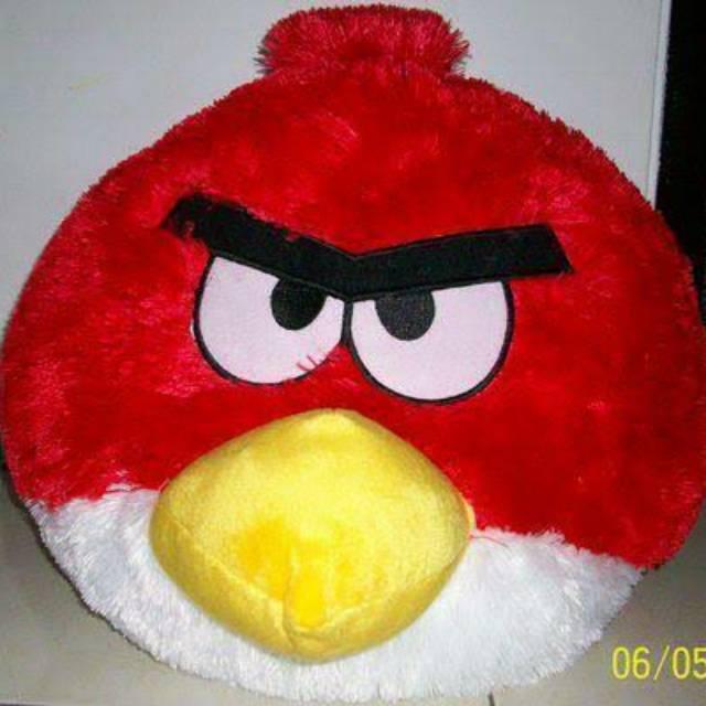 Boneka angry bird jumbo  b406ec9b51