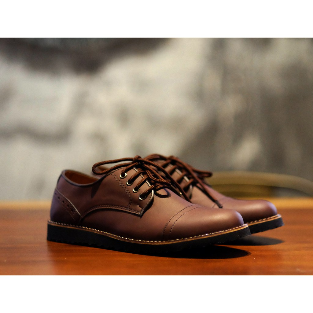 Dr Kevin Men Casual Shoes 13301 Maroon Shopee Indonesia 13232 Black Hitam 42