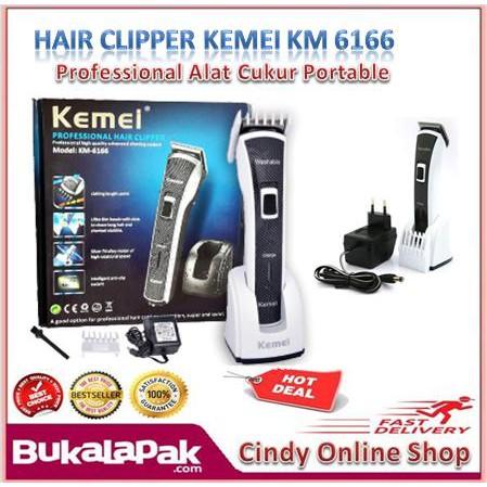 Kemei 5021 Alat Cukur Rambut Cordles Electrikc Hair Clipper No Kabel Hair  Clipper Wireless Barber  251b9189d9