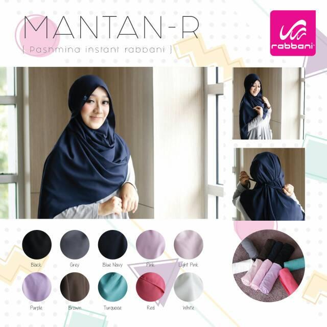 Rabbani Mantan R Hijab Fashion Pashmina Instan Syar I Rabbani Khimar Kerudung Pashmina Shopee Indonesia