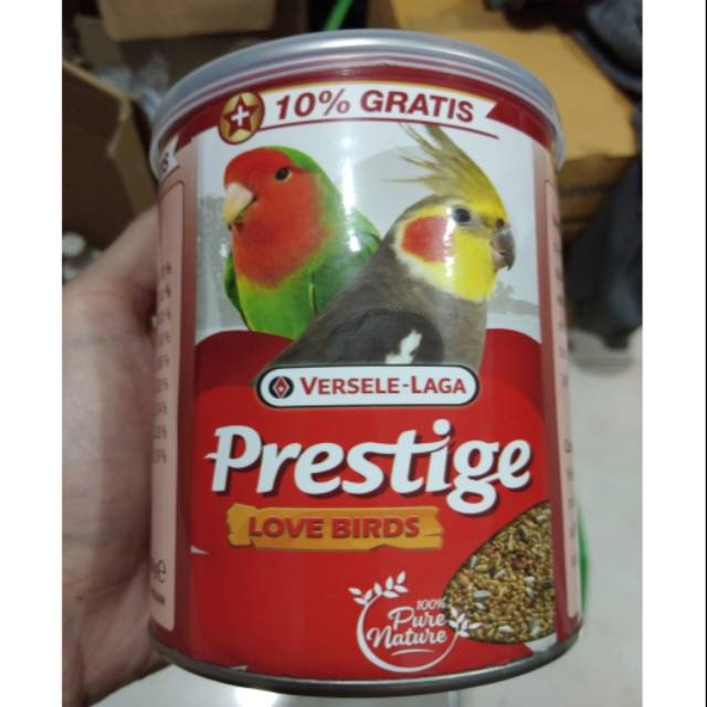 Prestige Love Birds Versele Laga Pakan Burung Import Love Bird Parkit Shopee Indonesia