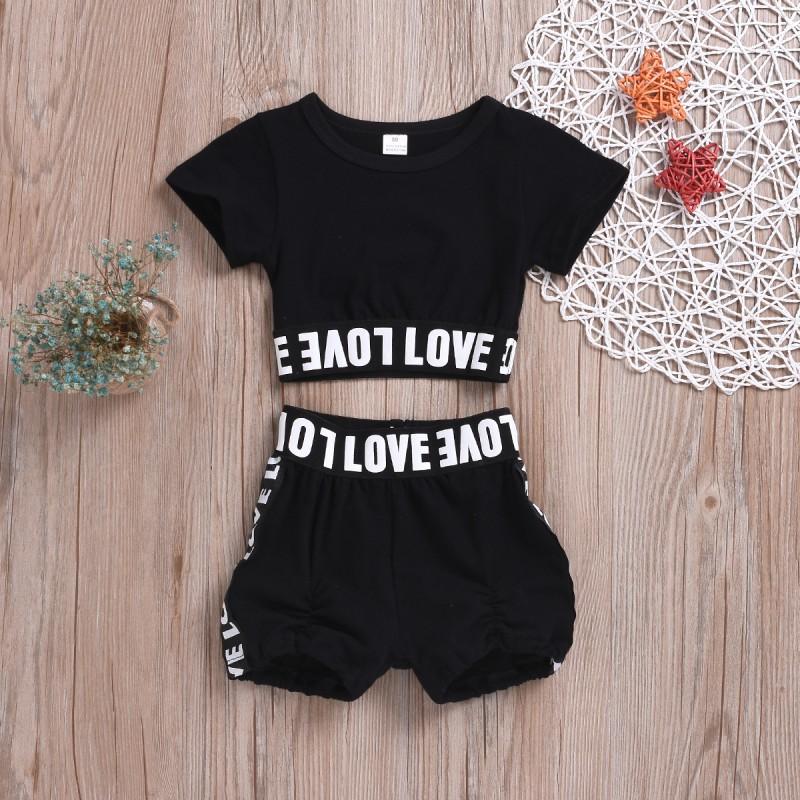 Newborn baby boy girls cotton romper kids summer cartoon fox printed clothes IU