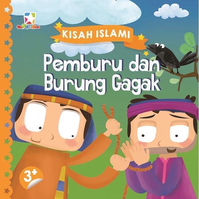 Buku Original Opredo Board Book Kisah Islami Pemburu Dan Burung Gagak Shopee Indonesia