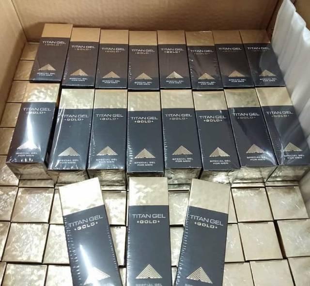 Jual Titan Gel Gold Asli Original 1 Lusin - 100% Original Product | Shopee  Indonesia