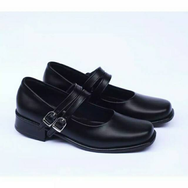 Sepatu Pantofel Paskibra Wanita Sepatu Pantofel Sekolah Wanita Sepatu Big Size Shopee Indonesia