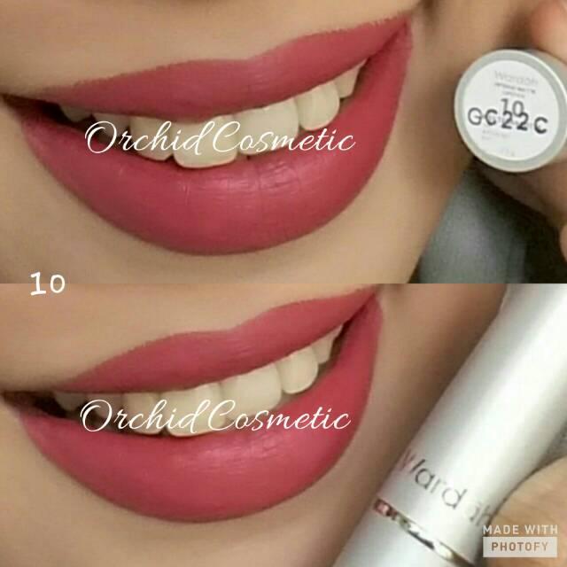 New Color 13 16 Wardah Intense Matte Lipstick