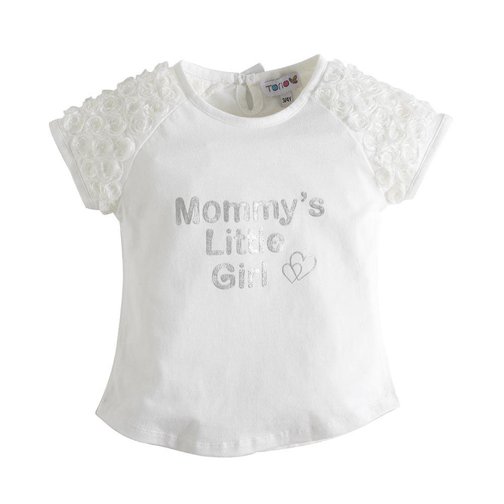 Perlengkapan Bayi Torio Daftar Harga Baju Perempuan Basic B65 0123 3 6 M Anak Golden Field Floral Tee