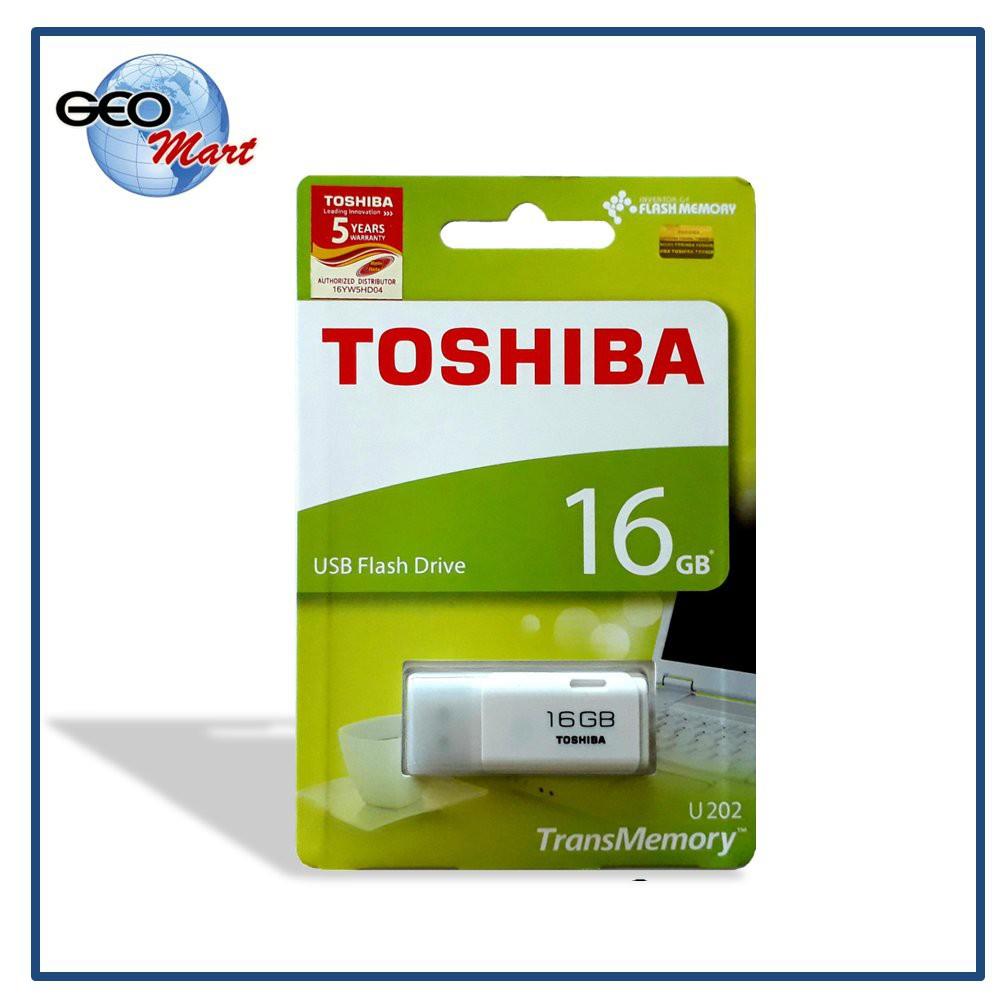 Flashdisk Toshiba Hayabusa 16gb Flash Disk 16 Gb Original Garansi Resmi Shopee Indonesia