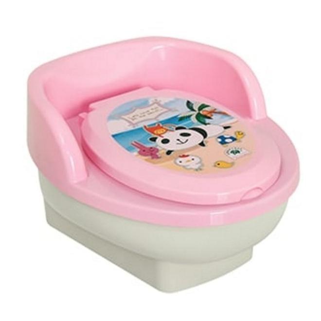 2in1 Pispot Kloset Duduk Anak/Bayi Warna Biru/Pink untuk Latihan Potty Training | Shopee Indonesia