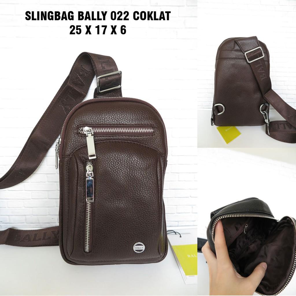 24979e0d104 High Premium AAA Bally Sling Bag 6826-2 | Shopee Indonesia