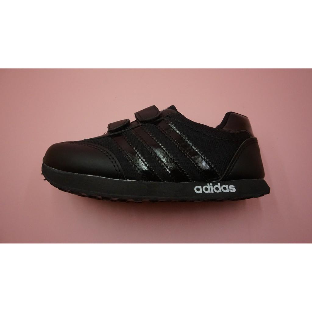 Sepatu Sekolah Anak Anak Sekolah Adidas Fullhitam Uk 23 37