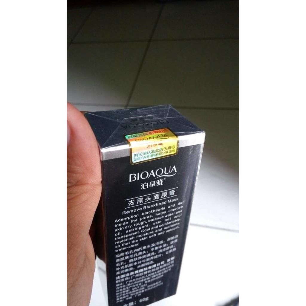 Exclusive Bioaqua Masker Penghilang Komedo Shopee Bio Aqua Wajah Jaman Now Indonesia