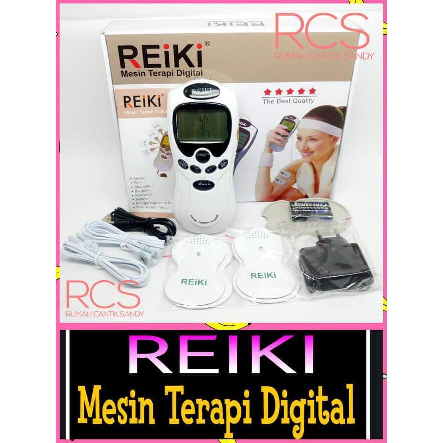 Promo Alat Terapi Pijat Kesehatan Reiki Digital Therapy Detox Digiwell Elektrik Akupuntur Seperti Michiko On Sale Shopee Indonesia