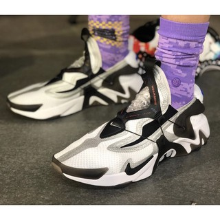 Nike Adapt Huarache White Black Premium Quality Shopee Indonesia