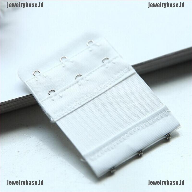 4cm Black White Nude 3 Extenders Strap 3 x 2 Hooks Bra Extender Extension Strap in 3 Colours
