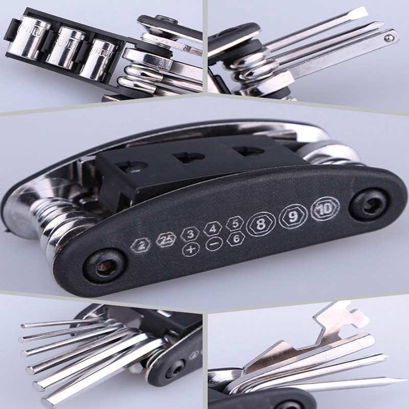 Touring Repair Tool Allen Key Multi Hex Wrench Screwdriver For Car Jian
